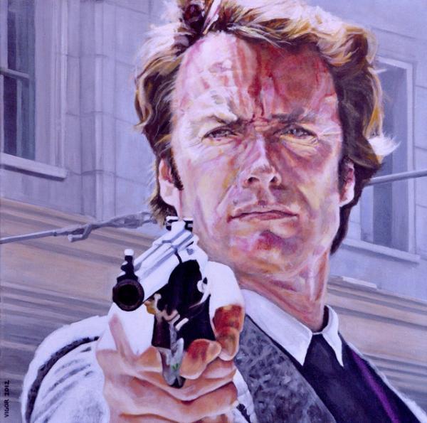 Clint Eastwood by DavidVigor